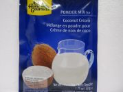 Kokoscremepulver, Coconut Cream Powder, AHG, 50g